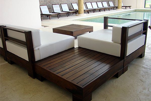 Nuestros muebles para exterior e interior del f brica de muebles de madera - Mueble de exterior ...