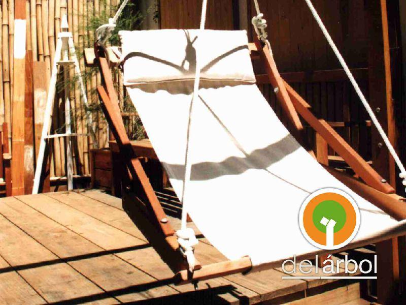 hamacas de madera para jardn y exterior del arbolcomar - Hamacas De Madera