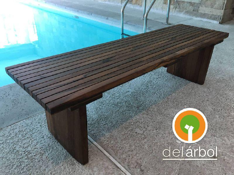 Banco de listones de madera para jard n y exterior del f brica de muebles de - Banco madera exterior ...