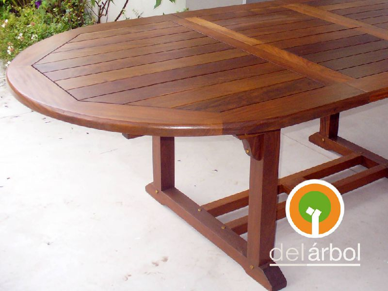 Mesa de madera para jardin conjunto para jardn de madera - Mesas de madera para jardin ...