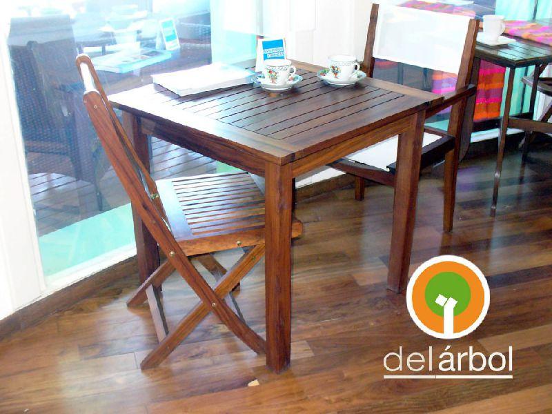 mesa bar fija de madera para jardn y exterior