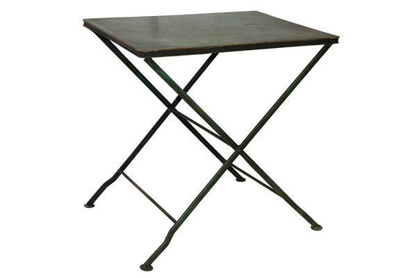 Mesas de hierro para jard n y exterior del for Mesas de hierro para jardin