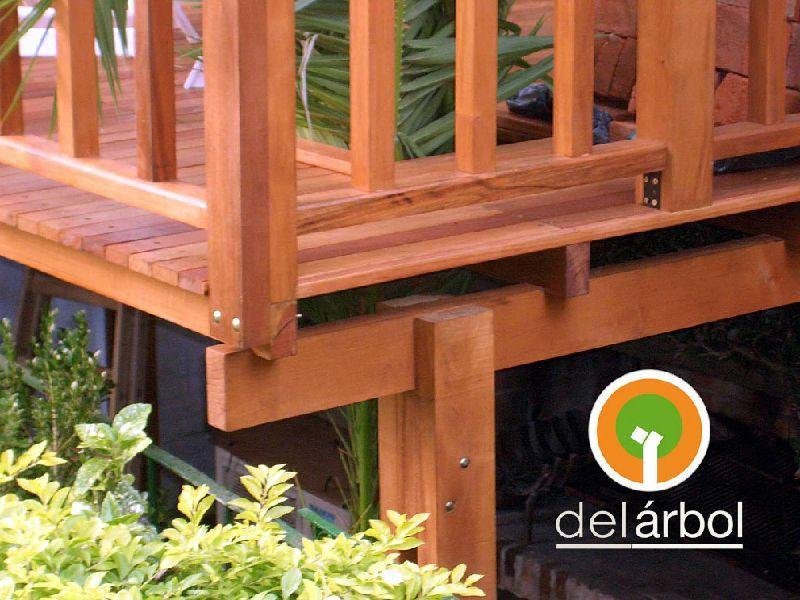 Barandas de madera del f brica de muebles for Fabrica muebles exterior