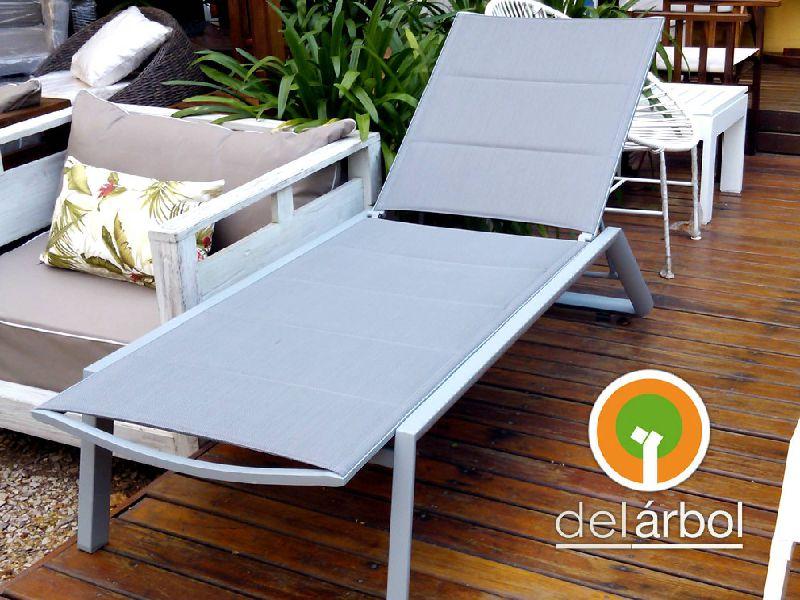 Reposera vigo de aluminio acero para jard n y exterior for Fabrica de muebles de jardin en aluminio