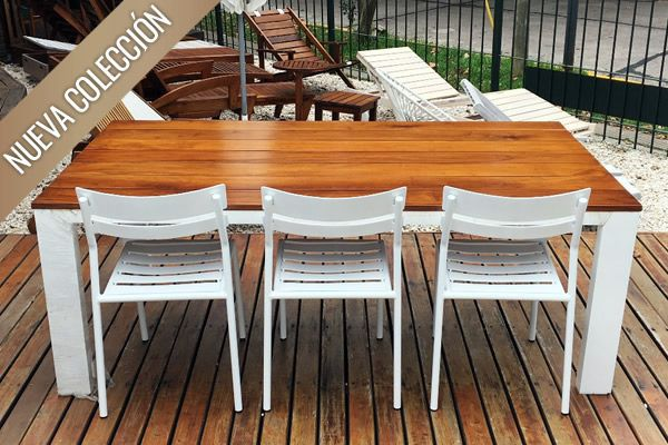 6fe802725 Mesas de Aluminio & Acero para Jardín y Exterior | del-arbol.com.ar ...